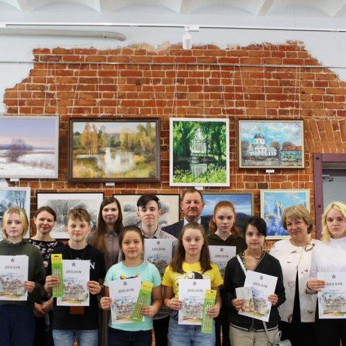 Итоги муниципального конкурса рисунков «Любимый Володарск»