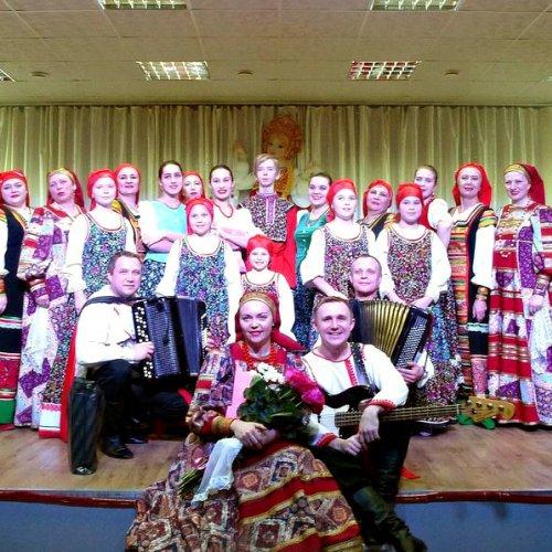 Отчетный концерт народного хора